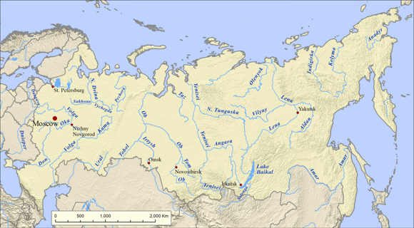 Rivers of Russia
